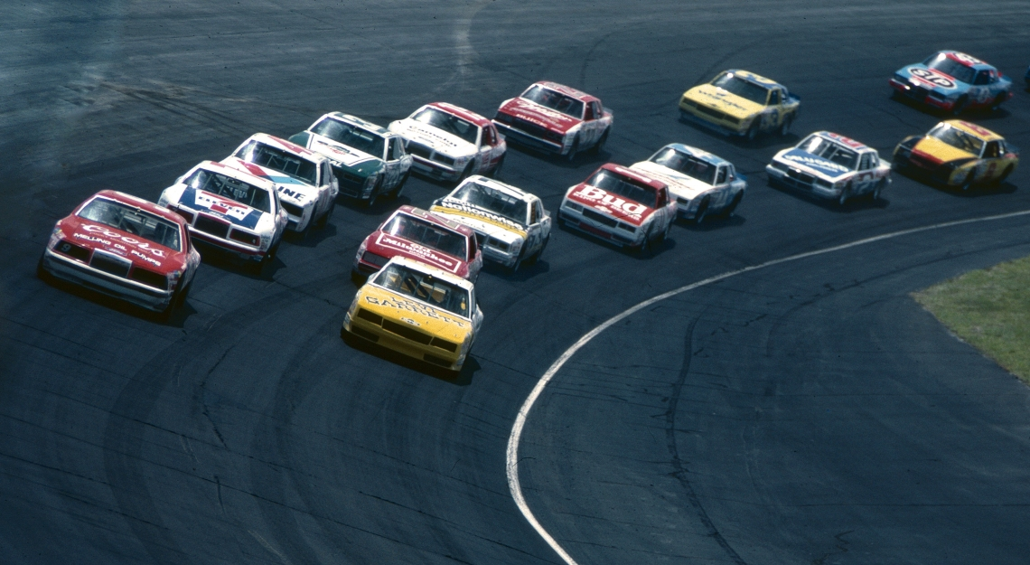 elliot leadsDover Asphalt 1985 Dover International Raceway