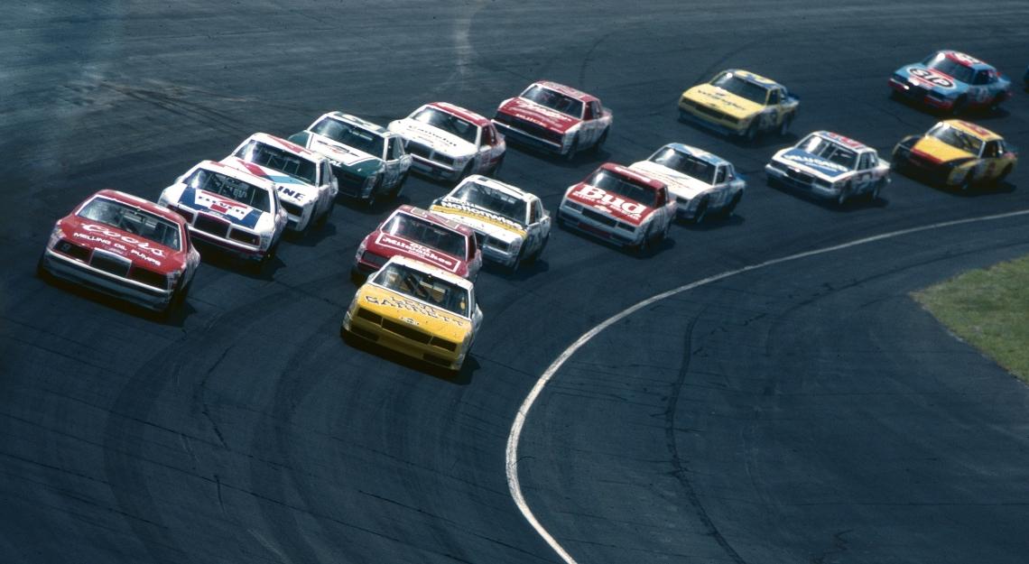 elliot leadsDover Asphalt 1985 Dover International Raceway